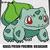 Bulbasaur Grass Poison Pokemon TV Pokemon Go Collector Card crochet graphgan