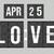 Love Apr 25, born in April, born on April 25, April svg, April birthday,