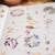 London Gifties original design watercolour - Pressed Flowers - 4cm wide Japanese