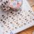 Soft Cotton - 2cm wide foil washi tape 10m - original design, perfect for