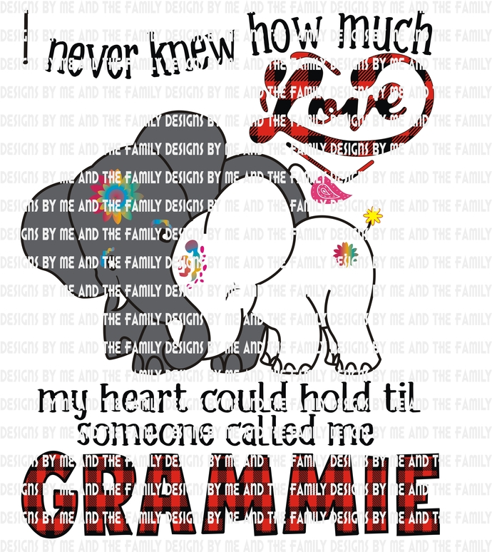 I never knew how much love my heart could hold til someone called me Grammie,
