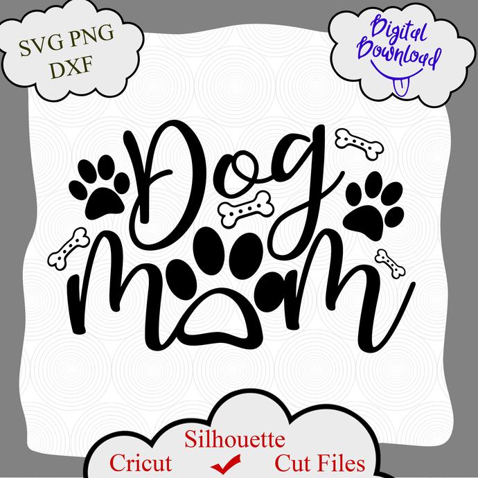 Dog Mom Svg Fur Mama Svg Dog Mama Svg Fur Mom By Digital4u On