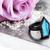 Blue Labradorite Ring ~ Black Copper Ring ~Tombstone Coffin Ring ~ Electro