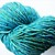 Handspun Yarn – 80/20% Merino Wool and Silk – Sport Weight – Turquoise / Green /