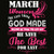 March women the last thing god made, born in March, March svg, March birthday