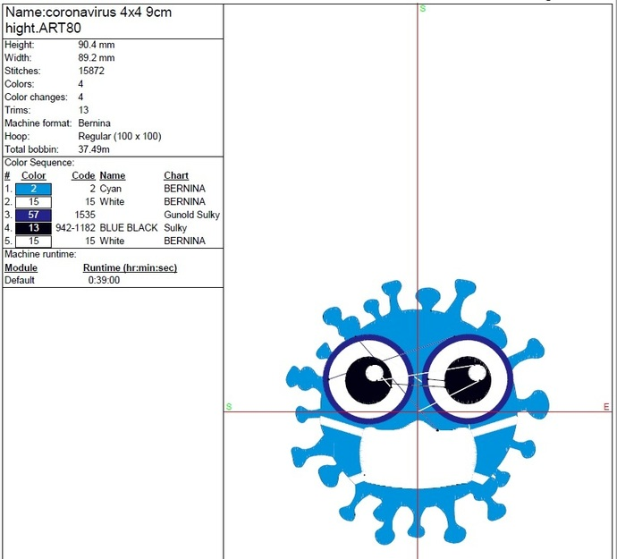 Face Mask Embroidery Machine Designs Pes Instant Digital Download Pattern
