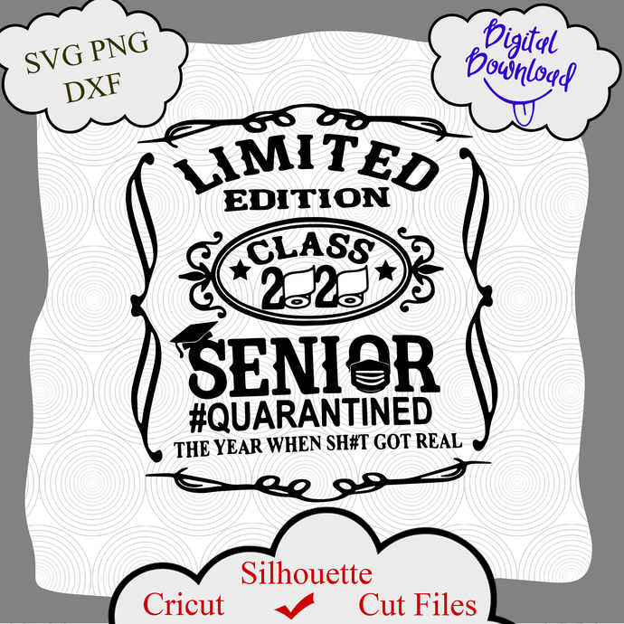Limited Edition Senior 2020 Toilet Paper By Digital4u On Zibbet