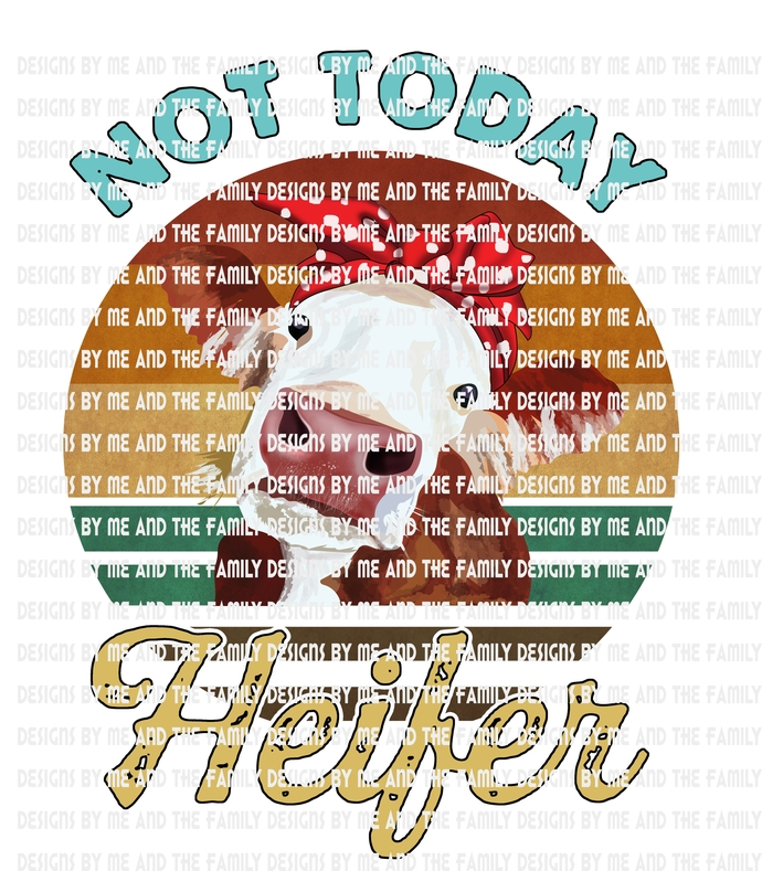 Not today Heifer, Adult funny, Humor, Vintage t-shirt, peace love cows, peace