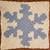 Snowflake Crochet Pattern Throw Pillow PDF Graph Row by Row Written Color Block