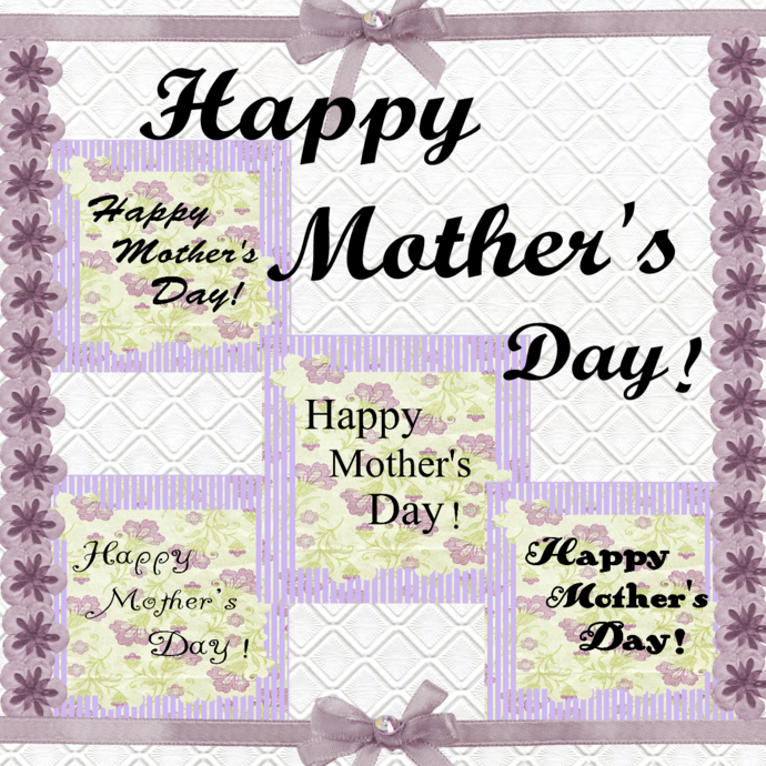 Happy Mother's Day 2-Digital ClipArt-Art Clip-Gift