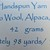 Handspun Yarn – Blend of Falkland, Merino Wool, Alpaca, Silk & Stellina – 42