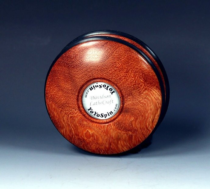 Rare Asian Ironwood Burl Handmade Imperial Yo-Yo
