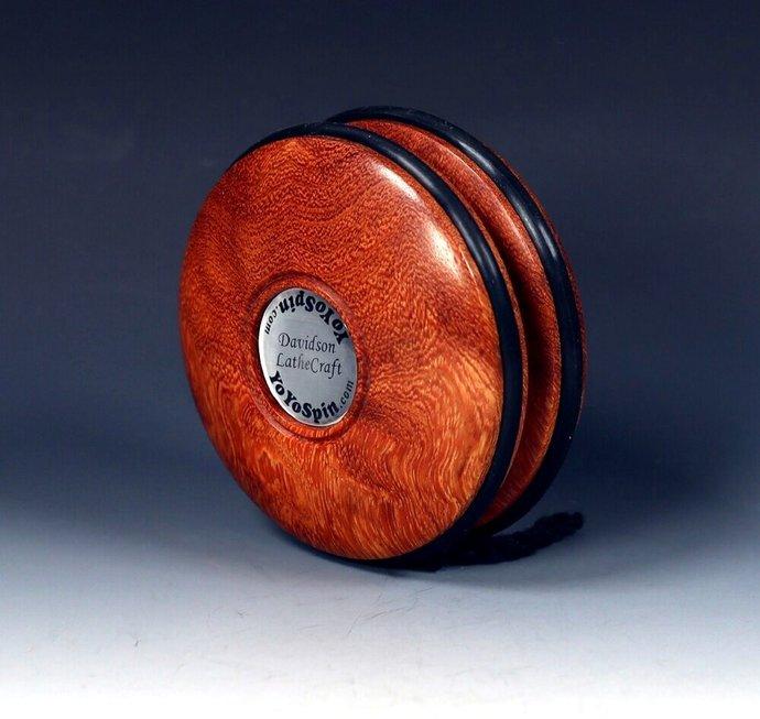 Rare Asian Ironwood Burl Handmade Imperial Yo-Yo