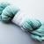 Handspun Yarn – 100% Blue Faced Leicester Wool – 103 grams – Sport Weight – Aqua