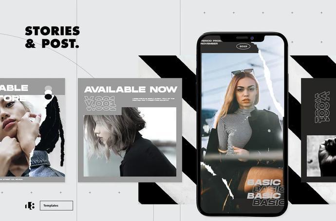Instagram Post Template, Social Media Posts, Instagram Stories Post