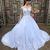 white wedding dresses ball gown long sleeve beaded lace appliqué elegant
