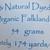 Handspun Yarn Natural / Eco Dyed with Madder – 100% Organic Merino – 54 grams –