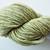 Handspun Yarn Natural / Eco Dyed with Nettle – 100% Organic Merino – 52 grams –