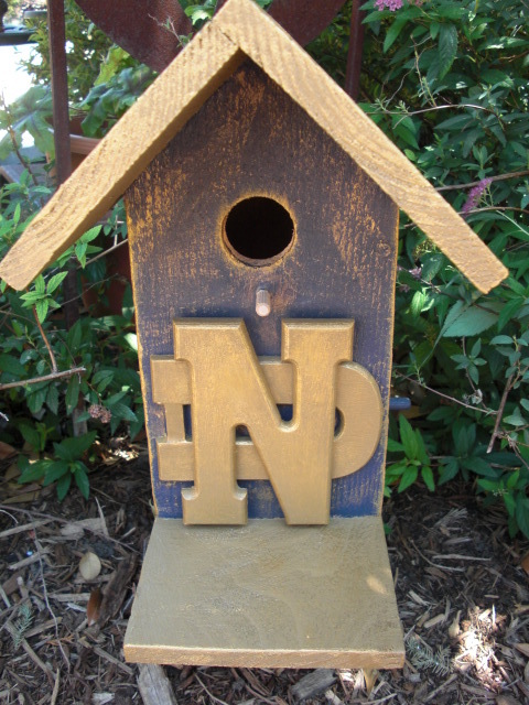 Copy of Notre Dame Birdhouses by ABCbirdhouses