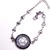 You are my sunshine stainless steel chain with hearts, silver bracelet,