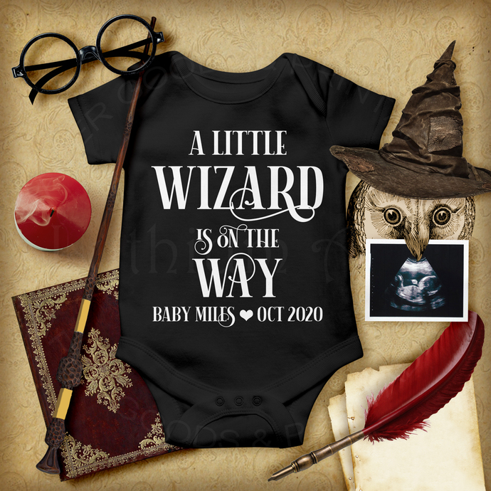 A Little Wizard is on the Way, Social Media Pregnancy Announcement, Digital