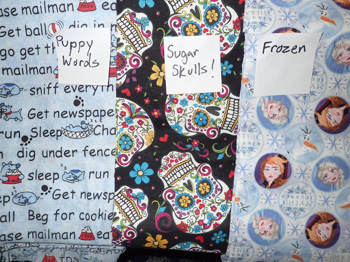 Geeky face mask of 100% cotton fabric & flannel handmade washable choose