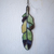 """""""Open to Discovery,"""" Stained Glass Meditation Feather with Chrysoprase"""