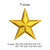 star embroidery design,star applique embroidery, embroidery k1243, instant