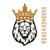 Lion head with crown embroidery design,Lion embroidery pattern,embroidery