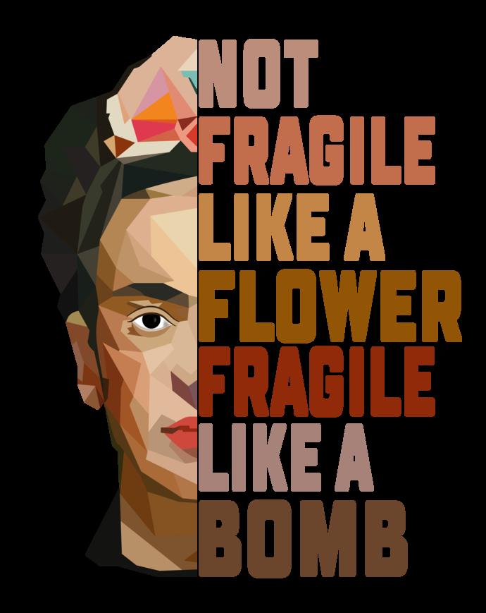 Not fragile like a flower Fragile like a bomb, Nurse life, Medical, rn, lpn,