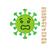 Coronavirus embroidery design,COVID19 embroidery design,coronavirus embroidery