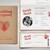 Vintage Passport Wedding Invitation, Passport Wedding Templates 26