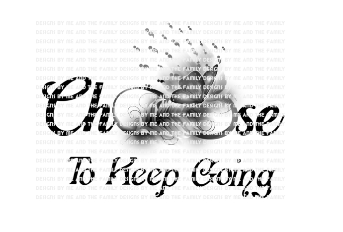 Choose to keep going black and white, your story is not over yet, You are loved,