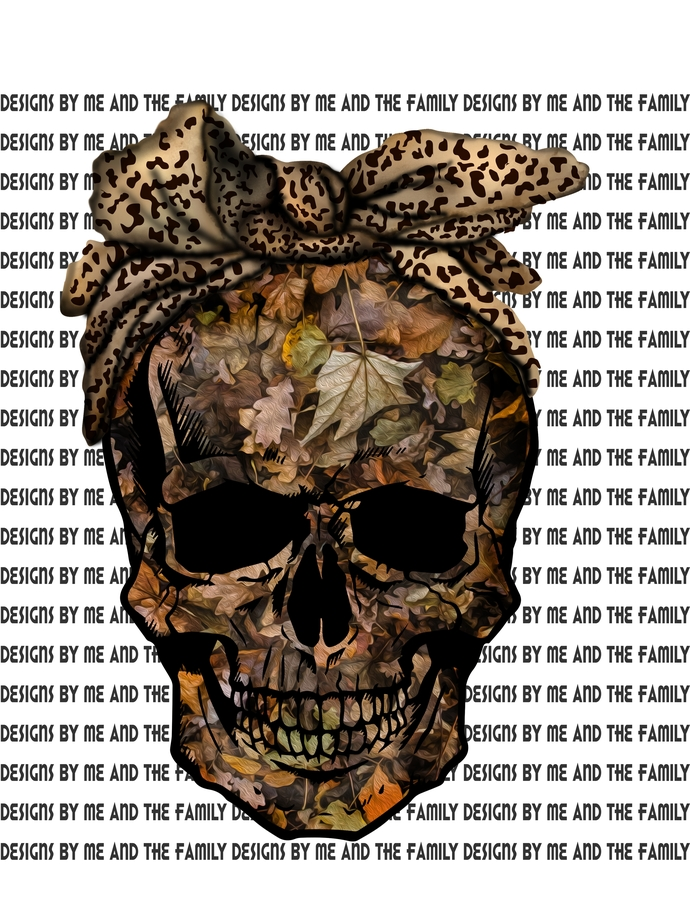 Camouflage Skull with cheetah print skull, Real girls wear Camo, Country Girls,
