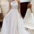 ELEGANT WHITE HIGH NECK TULLE LACE LONG PROM DRESS EVENING DRESS,F1656