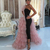 tiered prom dresses with detachable skirt dusty pink tulle elegant black 2021
