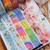 London Gifties x Rainbowholic foil masking tape - set of 6 tapes - 2cm wide foil