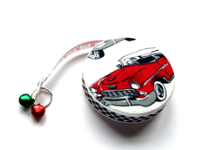 Tape Measure With Retro Cars Small Retractable Measuring Tape