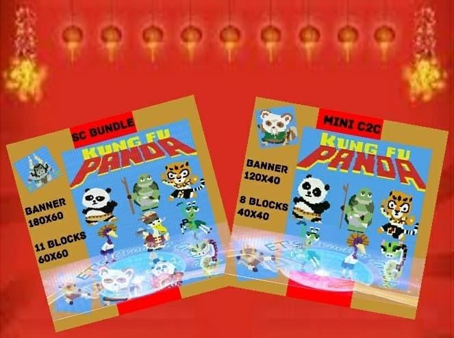 Kung Fu Panda SC & Mini C2C Bundle - Including Graph with Written