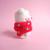 Tiny Toy - Marshmallow Bear, mini Art Bear, needle felted toy art, collectible