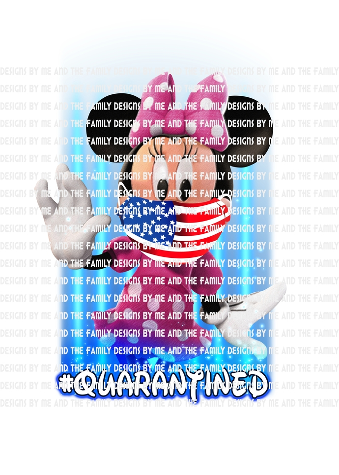 Minnie Quarantined, we are all quarantined here, #quarantined, Best Day Ever,