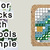 Paris Market Cross Stitch Pattern***LOOK***X***INSTANT DOWNLOAD***
