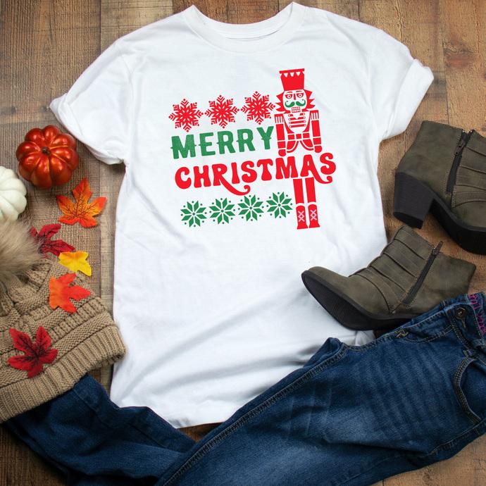 Ugly Christmas Sweater svg, Christmas svg, Nutcracker svg, Santa svg, Holiday