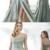 A-line Spaghetti Straps Green Satin Long Prom Dresses,Cheap Prom Dresses,,F1763