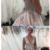 Gorgeous Floral Appliques Prom Dress,Long Prom Dress with Train,Evening Formal