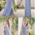 Chiffon Bridesmaid Dress, A-Line V-Neck Floor-Length Bridesmaid Dress,prom
