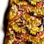 Vera Neumann Mod Fall Leaf Design In Brown Gold Orange Black And White Color