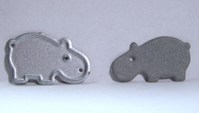 Very Small Hippo Cutting Die