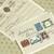 Vintage Stamp Wedding Invitation, Classic Stamp Wedding Templates 29