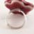 Handmade Sterling Silver Ceramic Spinner Cocktail Ring